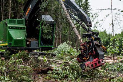 803MH John Deere harvesters