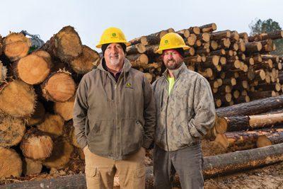 Wade Byars and son, Klint Byars, Wade Byars Logging LLC