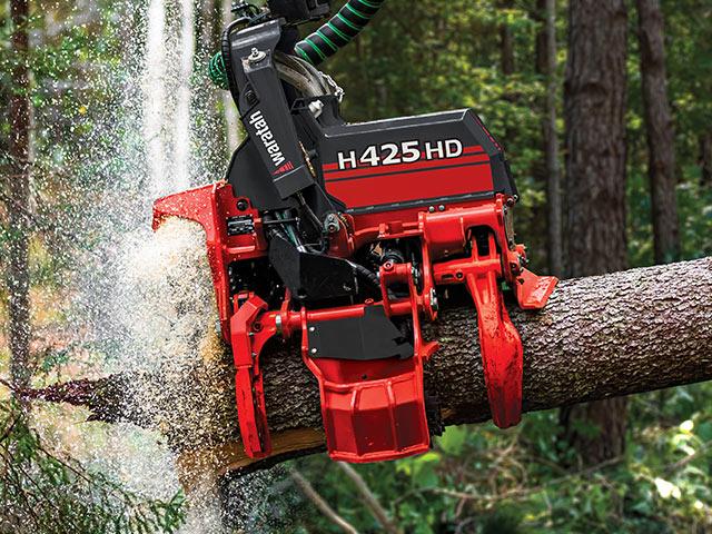 H425HD Harvesteraggregat – Profilansicht